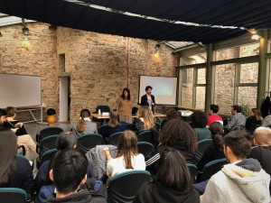 Foto lezione inaugurale Master DT Firenze